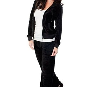 agiato Other - Womens velour jacket and pants